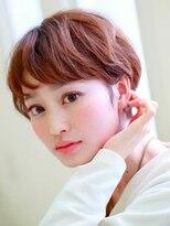 ショコラウメダ(Chocolat UMEDA)モーブカラー☆シースルーワイドバンク☆フォートレスショート