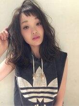 モネモネ(mone*mone)『Hair mone mone』☆ボサかわミディ☆