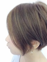 【Quarto】顔周りハイライト×アシメショート☆