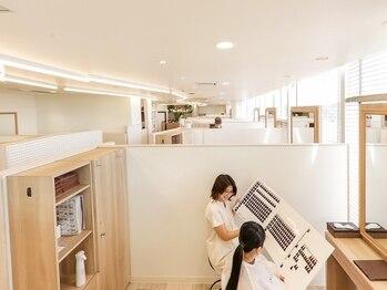 ディアローグ 瑞江南口店の写真/【瑞江の個室美容室】来店からお会計まで、他のお客様とお会いする事なく個室でお過ごしいただけます*