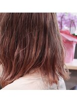 ホーム ヘア(HOME hair)透明感のあるグラデーションカラー