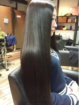 ソア(Soar)の写真/極上の《うる×ツヤ》美髪体験プラーミアトリートメント☆【初回体験¥3,240-】で出来るのが嬉しい♪