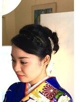 ヘアーカーブ(haircarve)haircarve☆結婚式およばれ・セットお着付け