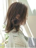 マテカ ヘアー(mateca hair)【mateca】ナチュラルウルフ×オリーブベージュ