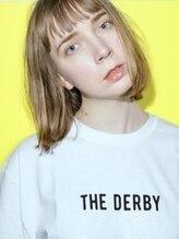 ダービー(THE DERBY)【THE DERBY】FLATBOB #イヤリングカラー#くびれ#イメチェン