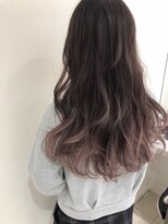 マージュ ギンザ(marju GINZA)ピンクアッシュグラデーションカラー