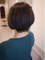ヘアー カラー キー(HAIR color KEY)ナチュラル・ハイライトショートBOB