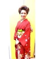 ヘアースペース ムーン(Hair Space MOON)JAPANESE SUTAIRU KIMONO