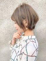 ノット(Knot)【knot阿部展大】モテる大人かわいい小顔ひし形ショート&ボブ