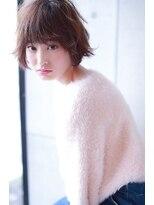 【Blanc目黒】ショートボブ × ハイ透明感カラー
