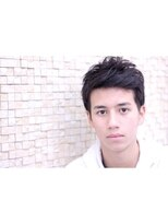 男も外国人風がいい!UPバングショート【DERA'S】byKAMIYAMA