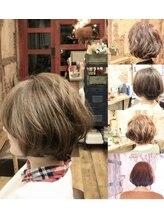 ムニ(Muni)SBS #Muni hair×ショートボブスタイル