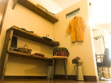 ヘアーガーデンニコモカ(Hair Garden NICOMOCA)の雰囲気(店内には癒される雑貨や植物を配置♪)