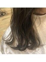 ヘアーエスクール 本店(hair S.COEUR)アッシュカラー×インナーカラー