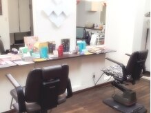 オリーブ(HAIR ART SHOP OLIVE)の雰囲気(2席のみなので、周りを気にしないでいられるのが嬉しい★)