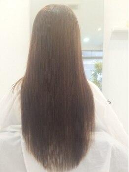 ドレスヘアーデザイン(dress hair design)の写真/理想を叶えるストレートメニューがココに…♪ツヤ髪&長持ちが自慢のストレート☆