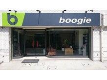 ブギー(BOOGIE)の雰囲気(緑のbマークが目印です!)