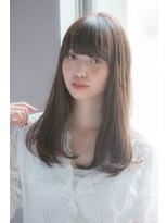 ガーデントウキョウ(GARDEN Tokyo)ナチュラルロング大人モーブカラー×小顔ワイドバング【KOMAKI】