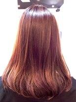 ファクトリー(FACTORY)美髪 ノンジアミンカラーピンクバイオレット リラクシーミディ