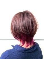 マルカ(marca)【Color Style】ウルフ×インナーピンク♪ 担当:三上