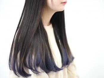 ヘアデザイン マノス(hair design mano's)の写真/【西尾市】デザインカラーでオシャレに変身☆トレンドはもちろん、こだわりの色味もしっかり再現します!