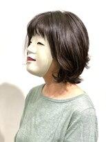 【coma中野】柔らかい動き上品ミセスパーマスタイル