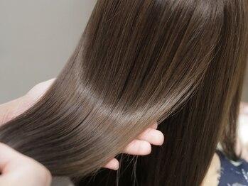ラルユー(LallYou)の写真/こだわりのオリジナルプレミアムシャンプー&トリートメントで髪を内側からキレイに!TOKIO・Aujuaもご用意◎