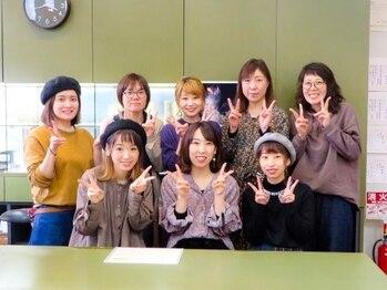 美容室樹蘭子 イオン松山店の写真/女性スタイリストが多く、親子で通われる方も多い樹蘭子☆ほっこり癒される優しい雰囲気が魅力のお店です♪