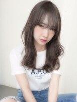 アンジェリカ ハラジュク(Angelica harajuku)【Angelica 白石研太】ブルージュカラー似合わせカット