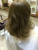 ファシオ ヘア デザイン(faccio hair design)外国人風カラー
