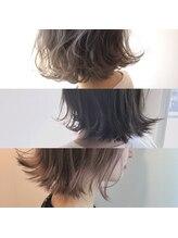切りっぱなしボブに相性バッチリ★春夏人気のスタイルと組み合わせてオシャレ髪に♪
