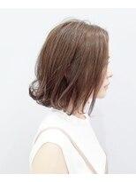 エイム ヘアメイク 横川店(eim HAIR MAKE)ふんわりフェミニン☆やわらかベージュ