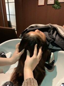 トレース 半田店(TRACE)の写真/【半田市】話題の炭酸ヘッドスパで、髪も地肌もリフレッシュ!赤ちゃんのようなさらさら髪に◎