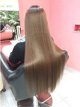 エムスリーディー オオサカ 祇園(M3D OSAKA)の写真/≪M3D≫回数を重ねる度に美しい艶髪になれる☆髪質改善するのでしっとりサラサラな手触りを実現♪