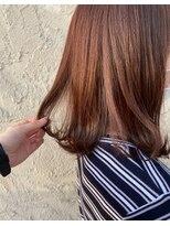ヘアメイク アプト コンビネーション(HAIR MAKE apt combination)オレンジブラウン