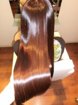 ペシェ (Peche)の写真/あなたのくせを魅力に変える!理想のスタイルを創るためにベストな髪質改善プランをご提案致します☆