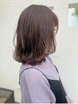 ビール 今泉店(BEER)【BEER 山崎雄太朗】透明感ピンク×髪質改善ストカール
