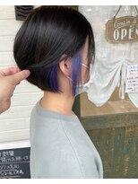 ヘアーガーデン シュシュ(hair garden chou chou)インナーブルーベリーパープル