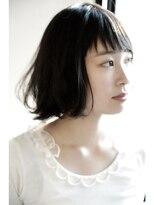 《NEW☆OPEN 》hair design SCENE 似合わせ黒髪ボブ♪