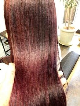 コレット ヘアー 大通(Colette hair)の写真/繰り返すたび髪質がよみがえる縮毛矯正が大人気!独自の技術で柔らかくサラサラストレートが叶う♪