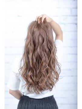 ヘアーメイク ダンス(hair make DANCE)明るめアッシュグレー #edol カラーの積み重ね