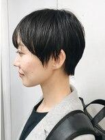 バイフィフス 原宿/表参道(by fifth)マニッシュショート/丸みショート/暗髪ショート○