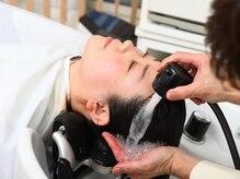 ビューティーサロン グレイス(Beauty Salon GRACE)の雰囲気(高濃度炭酸泉で皮脂をしっかり除去。カラー、パーマ前後にも最適)