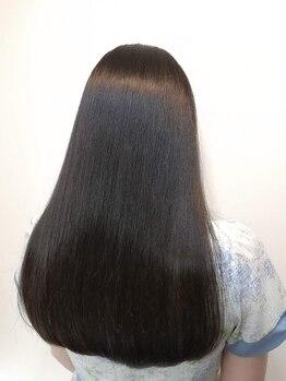 アルフラン(al franc)の写真/【Aujuaソムリエ在籍・ハイレベルケアサロン】髪質改善コース<aujua4STEP+美容液カラー>の徹底ケアが◎