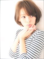 エラ(ELLA)☆大人カワイイ重め前髪ショート☆