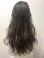 ポッシュ 原宿店(HAIR&MAKE POSH)カーキ系グラデーションカラー