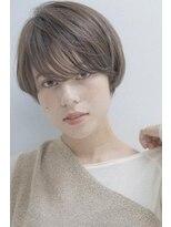 ミンクス 銀座五丁目店(MINX)大人可愛い小顔マニッシュショート
