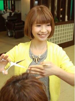 ディーリンク 中央店(hair cure DLINK)の写真/お手入れしやすいデザインで、シンプルかつ上品なスタイルをGET☆カット技術で質感も綺麗にコントロール!