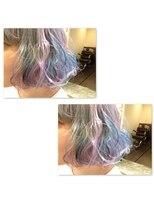 ミエルヘアーアンドスパ(miel hair&spa)◆miel◆コットンキャンディーカラー ボブ