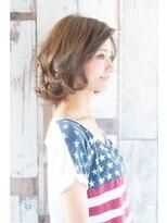 アリシアヘアー(ARISHIA hair)【ARISHIA hair 那珂】大人可愛い 伸ばしかけ ふわミディ ♪